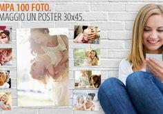 Stampa le tue foto e crea il Poster 30×45. Te lo regala PhotoSì.