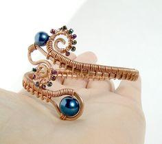 www.etsy.com/listing/94224192/peacock-statement-bracelet-...