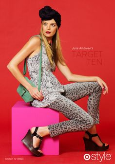 Target..there they are those leopard jeans...