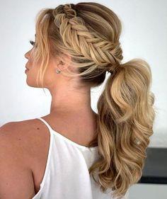 Penteado de festa 2019: 10 penteados para formandas e madrinhas de casamento #weddinghairstyles