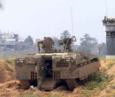 Israeli Armor photo thread- Operation Protective Edge - Page 3 - AR15.COM