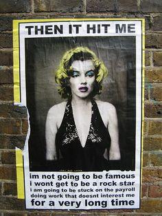 Then It Hit Me - by W10 on Flickr.  000 street art