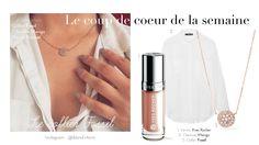 #collier #necklace #gold #doré #whiteblouse #crush #mode #blog #blogmode #blonde #storm #blondstorm #coupsdecoeur #bijoux #details #elegant #chic #yvesrocher #vernis #nude