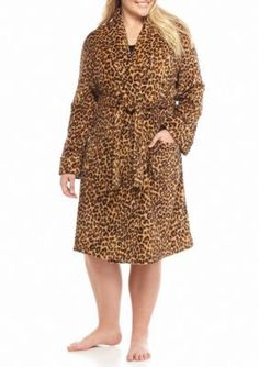 Lauren  Plus Size So Soft Robe