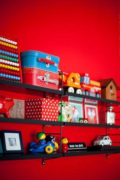 Shelves for Eli's room