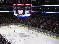 Centre Bell (Canadiens de Montréal contre les Sénateurs d'Ottawa) - Bell Center (Montreal Canadiens against The Ottawa Senators)