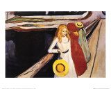 Four Girls on A Bridge, Edvard Munch