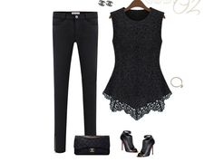 Lace Decorate Sleeveless Summer Tops For Women White Black