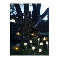 SOLVINDEN Lampa na ener słon, 3 szt - IKEA