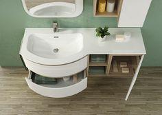 Aqua bagno mobile bagno cm con doppio lavabo bagno in ceramica