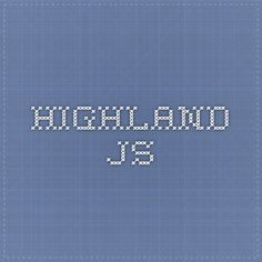 Highland.js - streaming library for javascript