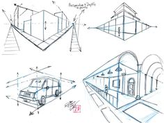 Perspective and Depth - Two Point Perspective by ~Diana-Huang on deviantART