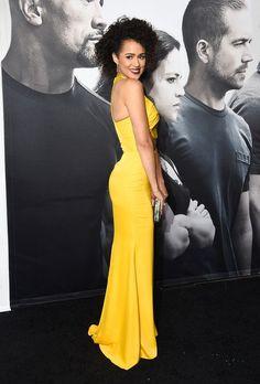 Nathalie Emmanuel Photos: Premiere 'Furious 7' - Arrivals