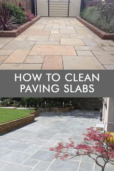 Find the best ways to clean and maintain your paving slabs and outdoor tiles. There are a few different products that you can use to help keep your patio clean and glowing. If you are only dealing with a small level of dirt the most cost-effective and natural method we would suggest is using white vinegar If you are only dealing with a big level of dirt, there are few products you can use to clean paving slabs. Read more in this blog post. #pavingslabs #howtocleanoutdoorslabs