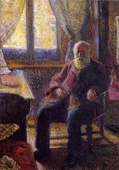 Richard Gerstl, Emil Gerstl, 1906, oil on canvas, 209 x 150 cm, Leopold Museum