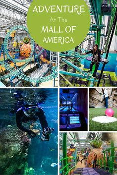 Adventure at the Mall of America -- snorkeling, rides, zip lines, mini golf, bowling and more! | http://wanderthemap.com/2015/12/adventure-at-the-mall-of-america/