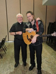 Father McNamera with Drew
