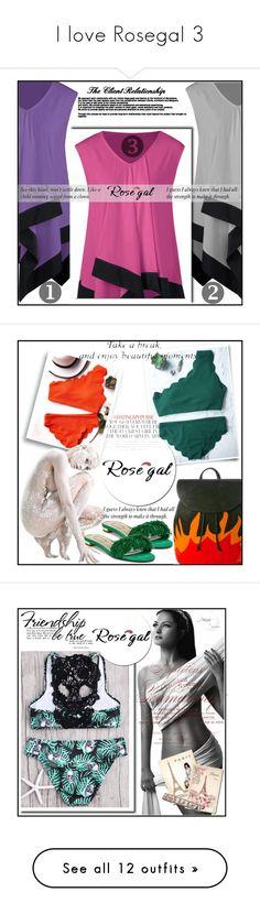 """I love RosegaI 3"" by aida-ida on Polyvore featuring American Vintage, Aquazzura, Kate Spade, Huda Beauty, Mulberry, Christian Louboutin, Dorothy Perkins, Betsey Johnson, B Brian Atwood and beauty"