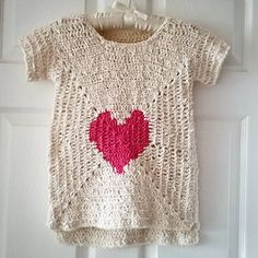 Front: 12 round basic solid granny with heart incorporated (1st 5 rounds), after…