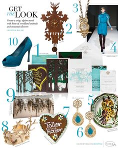 Get the Look CeciStyle V66: Wooded Wonderland