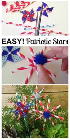 Use paper straws to