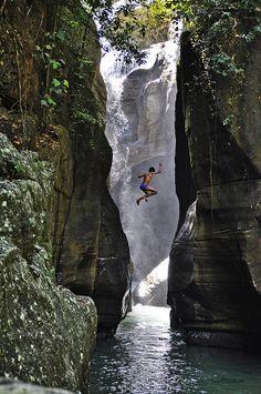 Cunca Wulang Canyon, Flores, Indonesia