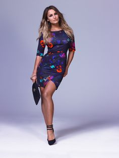 We love this gorgeous printed long sleeve dress from Samantha Faiers for Very. Shop the full collection at Very from 30th October. http://www.very.co.uk/
