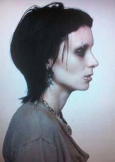 Lisbeth Salander, The Girl With the Dragon Tattoo. I haven't seen these movies, but unf.