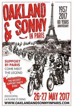 OAKLAND & SONNY in PARIS, SUPPORT 81 PARIS