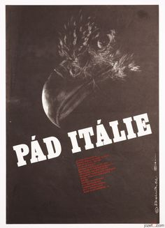 Poster Auction / TUESDAY 04.10.2016 / Starting at £0.99 / FALL OF ITALY / #movieposter #postersale #graphicdesign