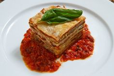 """Eggplant Parmesan (Lasagna Style) As much as I love eggplant parm, this is a """"must try"""""""