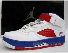 new product 3d667 f53cd Air Jordan Force Fusion 5 White Varsity Red Blue Ribbon Achat Pas Cher,  Price   67.00 - Reebok Shoes,Reebok Classic,Reebok Mens Shoes