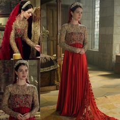 """4,774 Likes, 21 Comments - Reign's Fashion (@reignsfashion) on Instagram: """"Queen Mary [3x09] _ #reign #cwreign #cw #historic #historicalfashion #meredithcostumes…"""""""