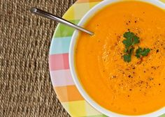 Carrot Apple Ginger Soup — Oh She Glows