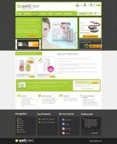 Website Design for Health Company