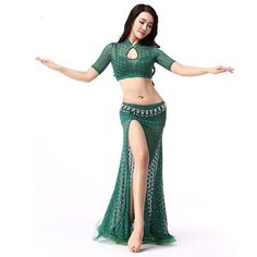Vogue new modern sexy Quality lace belly dance clothes set for women/female/girl/lady, costume performance wears training dress