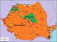 Languages of Romania. Languages of Romania. European Map, European History, World History, Ancient History, Netherlands Map, Geography Map, Alternate History, Historical Maps, Old Maps