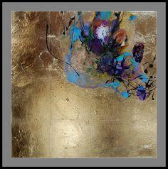 Resultado de imagem para egret canvas gold leaf