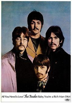 THE BEATLES: ad, 1967