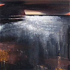 Ørnulf Opdahl: Byens lys, 2105, 120 x 120 cm Landscape Art, Landscape Paintings, Water Images, Oslo, Great Artists, Painting Inspiration, Art Photography, Abstract Art, Fine Art