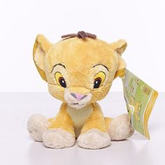Disney Lion King Simba - 10 Musical Pull Toy Officially licensed Disney merchandise. A lovely gift for babies nursery. Perfect for cots, prams and on the move (Valcro tags on back to attach). Suitable from birth. Soft beautiful fabric, Simba's tail is a pull cord that plays a sweet melody.  #The_Lion_King #Baby_Product