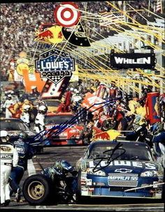 Signed Jeff Gordon Photo - Jimmie Johnson Lowes dupont Original 8x10 Ar Loa - Autographed NASCAR Photos by Sports Memorabilia. $73.65. JIMMIE JOHNSON/JEFF GORDON LOWES/DUPONT SIGNED ORIGINAL 8X10 PHOTO AR LOA