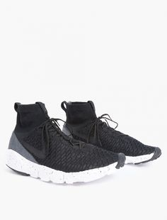 online store 6ece8 c862c Nike,Black Air Footscape Magista Flyknit Sneakers,BLACK,0 Sneakers Nike