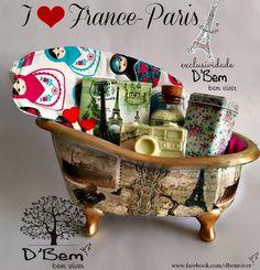 banheira em cerâmica- estilo vintage produzida por D'Bem-bem viver  www.dbembemviver.com.br https://www.facebook.com/dbemviver