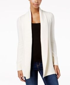 Charter Club Stitched Open-Front Completer Cardigan d4267ad4a03c