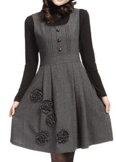 Winter Fashion Dress Skirt