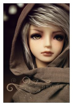 #bjd #dolls The Faceup is wonderful, the eyes so subtle. this is a good Natural Toned BJD.