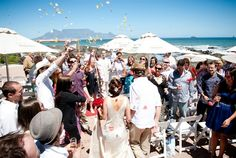 Our list of fabulous beach wedding venues in Cape Town shares photos of real brides, guest capacity and closeness of the venue to the beach! Wedding Venues Beach, How To Speak French, Travel Companies, Travel Planner, Rest Of The World, Cape Town, Wedding Decorations, Wedding Ideas, The Rock