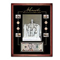 Lincoln Bicentennial Coin And Stamp Tribute