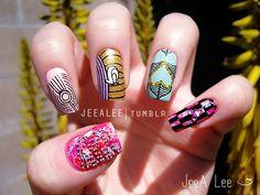 INSA-Inspired Nails
